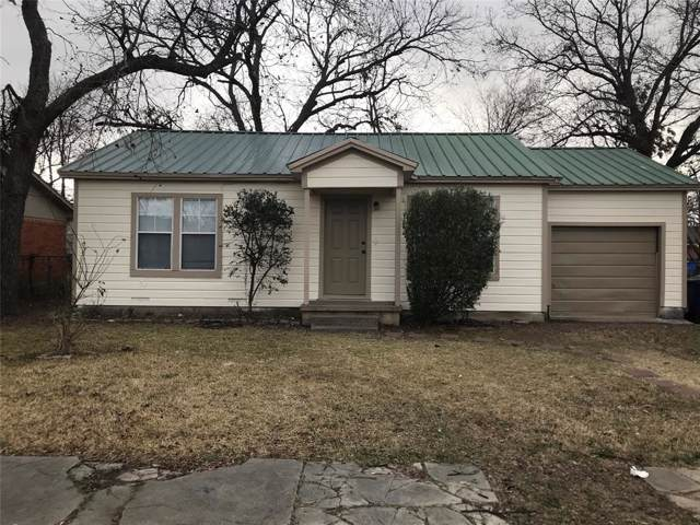 209 S 2nd Street, Sanger, TX 76266 (MLS #14257280) :: The Kimberly Davis Group