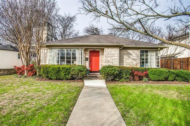 6115 Anita Street, Dallas, TX 75214 (MLS #14257281) :: The Kimberly Davis Group