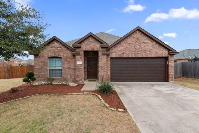 77 N Highland Drive, Sanger, TX 76266 (MLS #14257388) :: Trinity Premier Properties