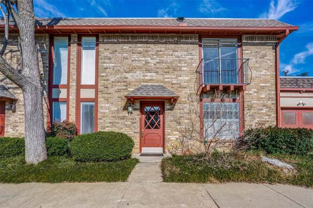 1805 E Grauwyler Road #122, Irving, TX 75061 (MLS #14257463) :: The Real Estate Station