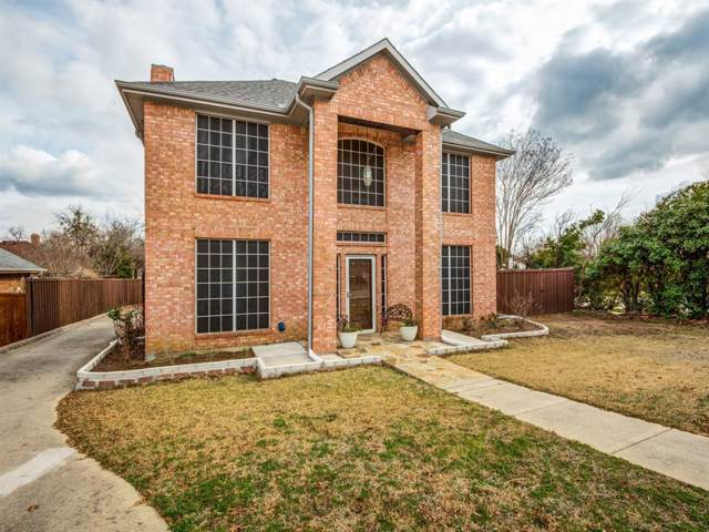 815 Ramblewood Drive, Lewisville, TX 75067 (MLS #14257738) :: The Mauelshagen Group