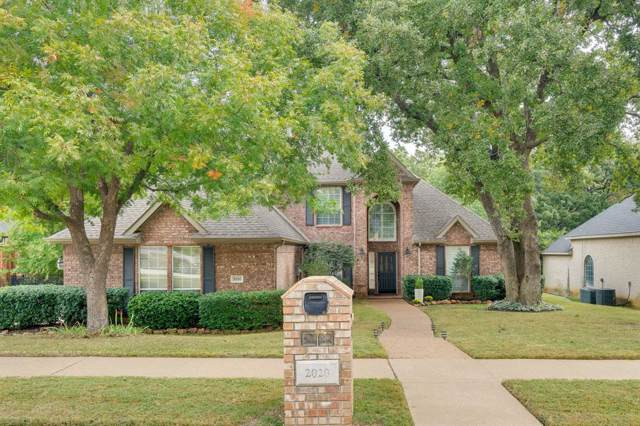 2020 Walden Boulevard, Flower Mound, TX 75022 (MLS #14257827) :: Team Tiller