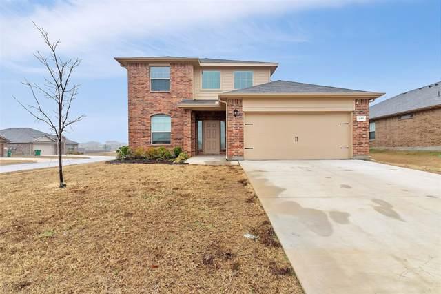 241 Saratoga Drive, Ponder, TX 76259 (MLS #14257892) :: The Real Estate Station