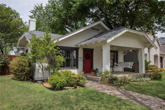 5136 Collinwood Avenue, Fort Worth, TX 76107 (MLS #14257976) :: Potts Realty Group