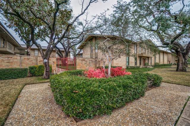 11312 Park Central Place A, Dallas, TX 75230 (MLS #14258052) :: The Kimberly Davis Group