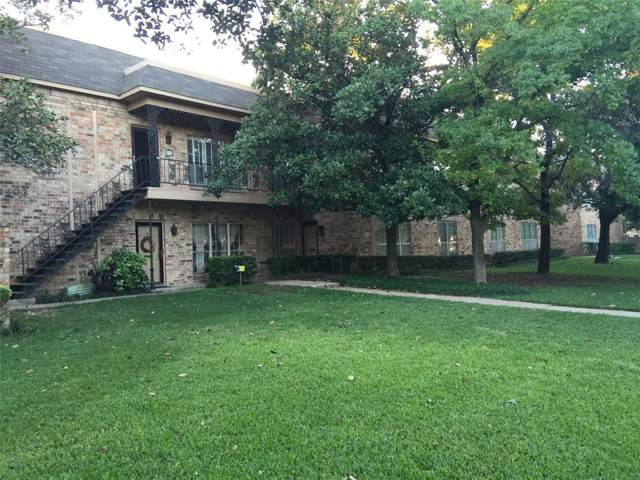 4405 Bellaire Drive S 121S, Fort Worth, TX 76109 (MLS #14258230) :: The Hornburg Real Estate Group