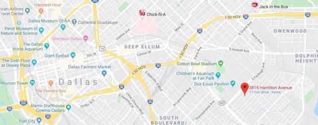 3815 Hamilton Avenue, Dallas, TX 75210 (MLS #14258311) :: EXIT Realty Elite