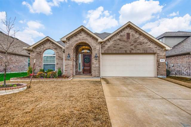 4612 Lake Cove Way, Frisco, TX 75036 (MLS #14258373) :: RE/MAX Pinnacle Group REALTORS