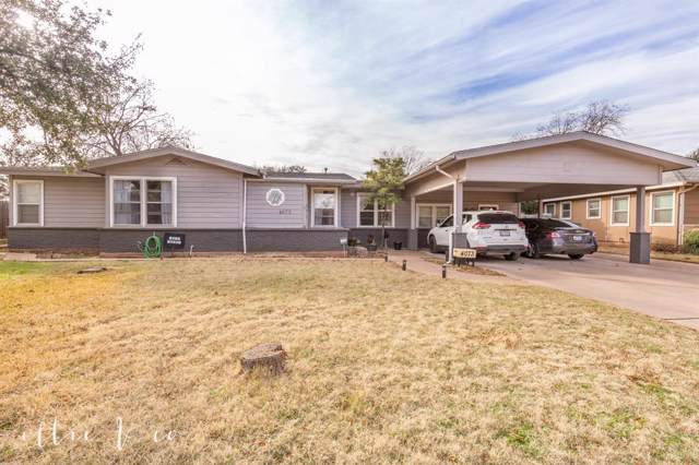4073 Stratford Street, Abilene, TX 79605 (MLS #14258382) :: Century 21 Judge Fite Company