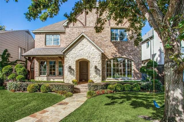 3900 Stanford Avenue, University Park, TX 75225 (MLS #14258419) :: Robbins Real Estate Group