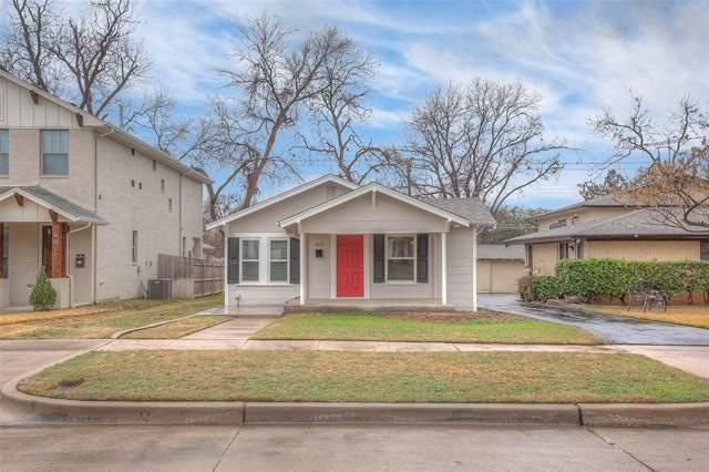 4825 Birchman Avenue, Fort Worth, TX 76107 (MLS #14258566) :: Robbins Real Estate Group