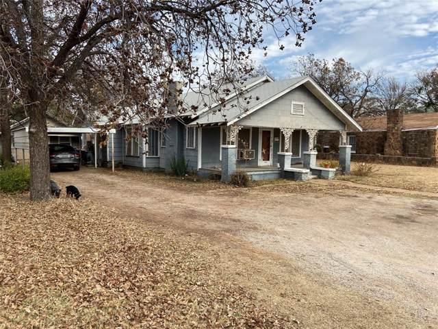 1504 W Walker Street, Breckenridge, TX 76424 (MLS #14258567) :: The Kimberly Davis Group