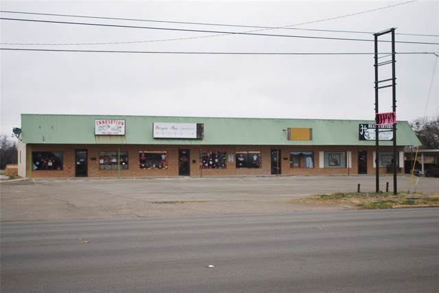 1205 Coggin, Brownwood, TX 76801 (MLS #14258631) :: All Cities USA Realty