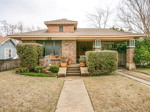 122 S Waverly Drive, Dallas, TX 75208 (MLS #14258638) :: Ann Carr Real Estate