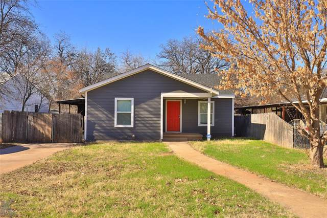734 Sunset Drive, Abilene, TX 79605 (MLS #14258691) :: North Texas Team | RE/MAX Lifestyle Property