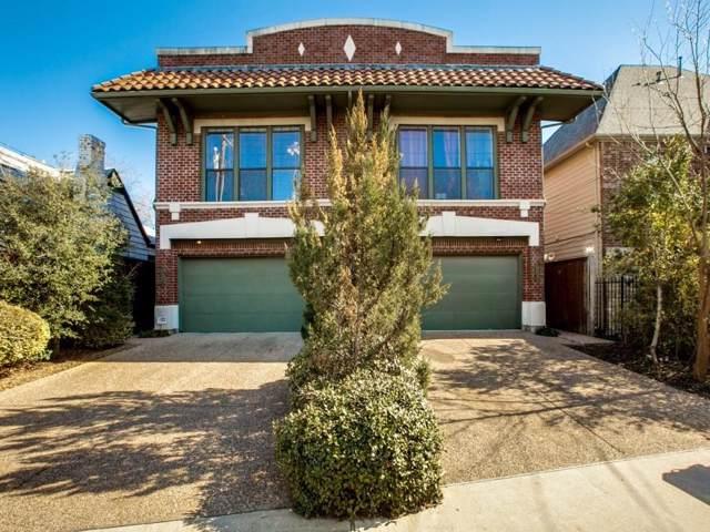 5004 Mission Avenue, Dallas, TX 75206 (MLS #14258963) :: North Texas Team | RE/MAX Lifestyle Property