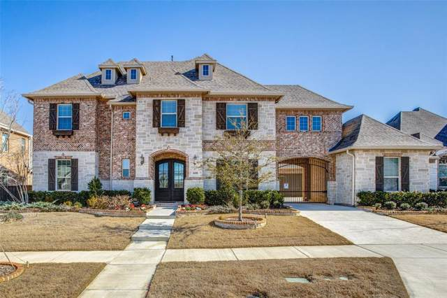 6688 Coffeepot Creek Road, Frisco, TX 75036 (MLS #14259032) :: The Real Estate Station