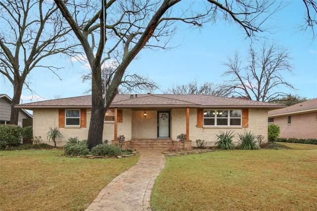 103 N Lois Lane, Richardson, TX 75081 (MLS #14259090) :: Hargrove Realty Group