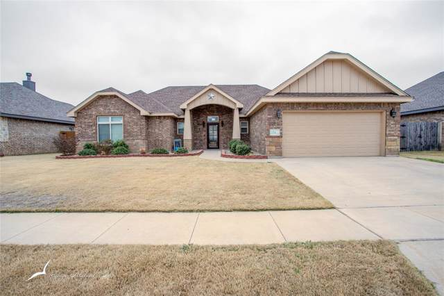 334 Mill Creek Drive, Abilene, TX 79602 (MLS #14259156) :: The Chad Smith Team