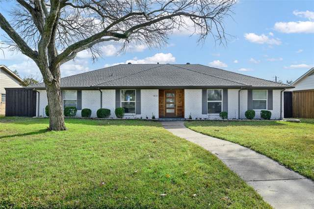 1431 Chippewa Drive, Richardson, TX 75080 (MLS #14259159) :: The Good Home Team