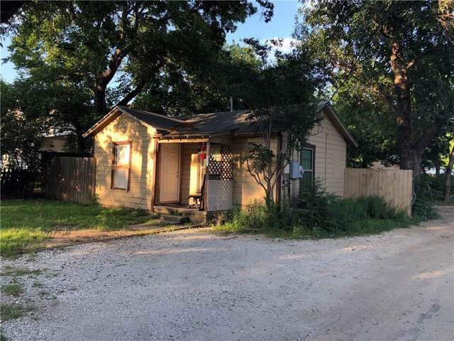 700 Frame Street, Denton, TX 76209 (MLS #14259247) :: Real Estate By Design