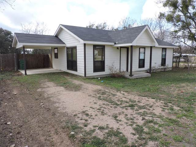 1705 Peach Street, Goldthwaite, TX 76844 (MLS #14259444) :: Team Tiller