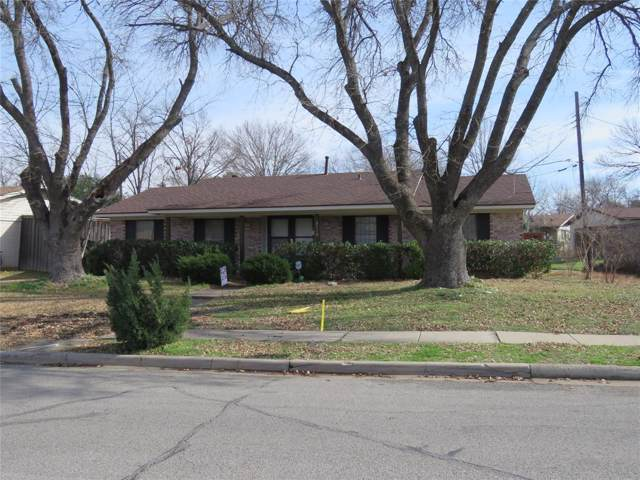 3710 Chime Street, Irving, TX 75062 (MLS #14259516) :: The Real Estate Station