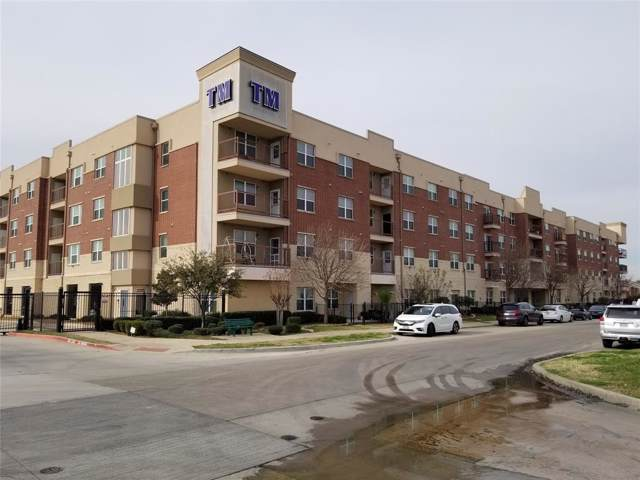 1100 W Trinity Mills Road #2035, Carrollton, TX 75006 (MLS #14259611) :: RE/MAX Landmark