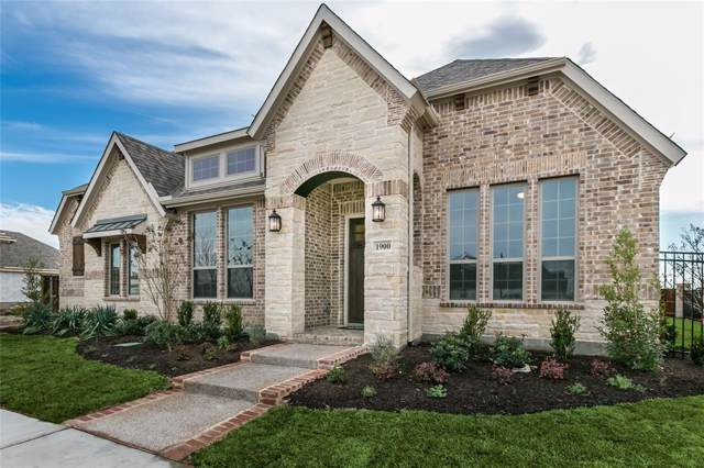 1900 Green Jasper Place, Arlington, TX 76005 (MLS #14259689) :: All Cities Realty