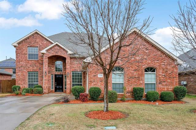 1709 Westfield Way, Allen, TX 75002 (MLS #14259704) :: The Hornburg Real Estate Group