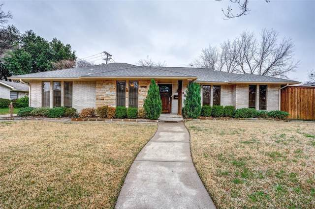 3306 Jubilee Trail, Dallas, TX 75229 (MLS #14259705) :: RE/MAX Town & Country