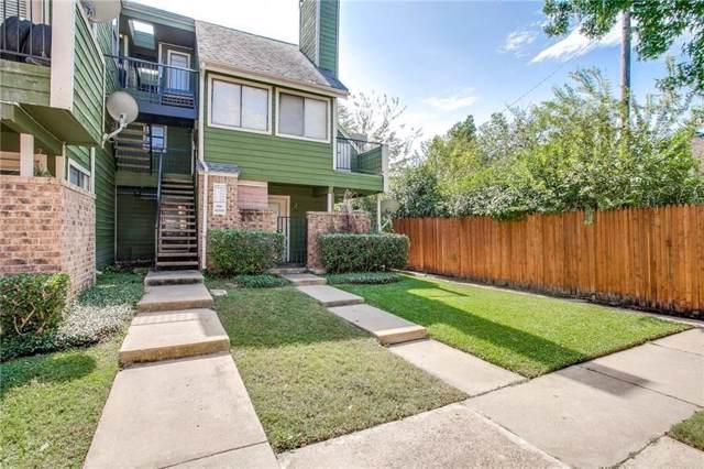 9823 Walnut Street #214, Dallas, TX 75243 (MLS #14259793) :: The Hornburg Real Estate Group