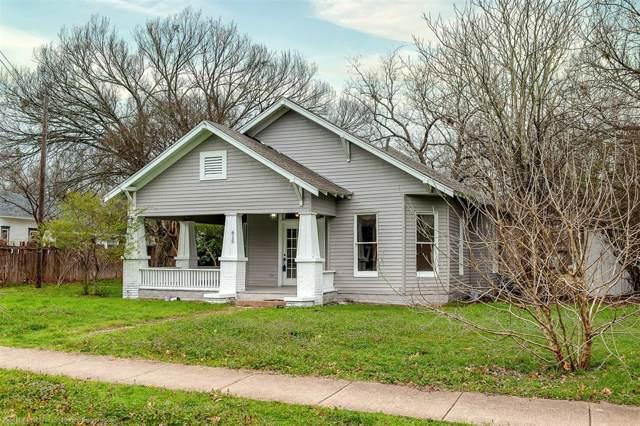 615 Brown Street, Waxahachie, TX 75165 (MLS #14259801) :: All Cities Realty