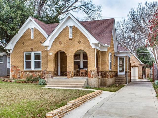 825 Thomasson Drive, Dallas, TX 75208 (MLS #14259816) :: Ann Carr Real Estate