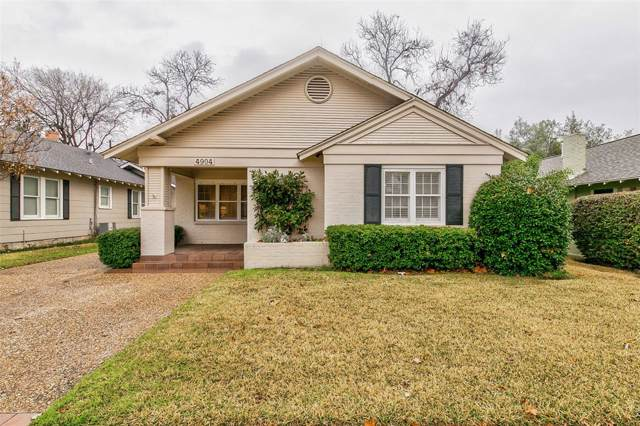 4904 Dexter Avenue, Fort Worth, TX 76107 (MLS #14259847) :: Potts Realty Group