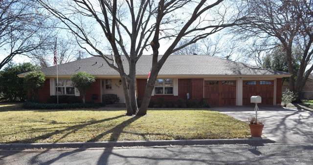 1309 W Hill Lane, Coleman, TX 76834 (MLS #14259987) :: RE/MAX Town & Country
