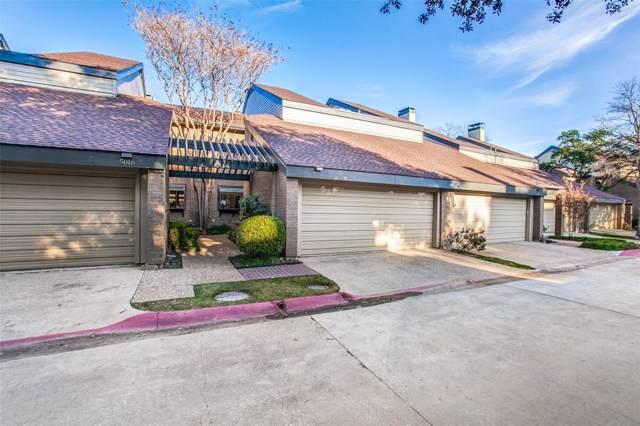 5018 Westgrove Drive #5018, Dallas, TX 75248 (MLS #14260052) :: Century 21 Judge Fite Company