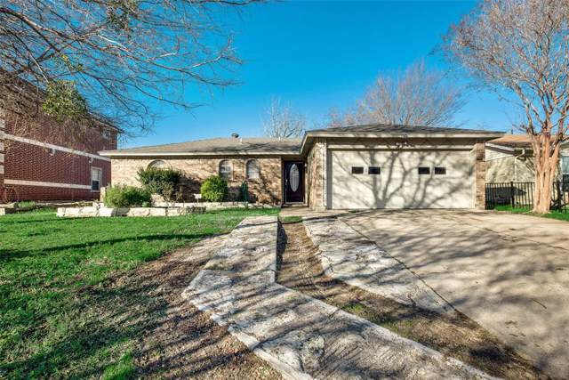 2109 14th Street, Grand Prairie, TX 75051 (MLS #14260061) :: RE/MAX Pinnacle Group REALTORS