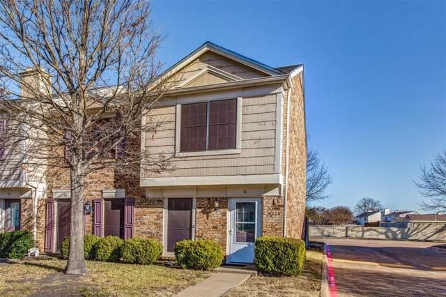 645 Carriagehouse Lane #1, Garland, TX 75040 (MLS #14260095) :: RE/MAX Landmark