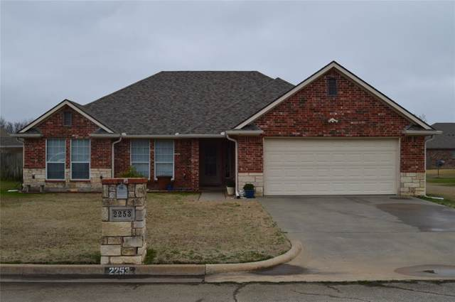 2253 N Village Drive, Bonham, TX 75418 (MLS #14260313) :: Baldree Home Team