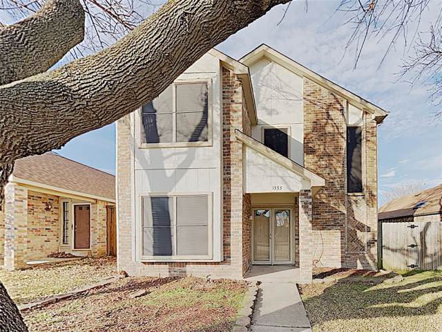 1333 Maplewood Drive, Lewisville, TX 75067 (MLS #14260319) :: Real Estate By Design