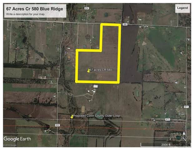 67 AC County Road 580, Blue Ridge, TX 75424 (MLS #14260365) :: RE/MAX Pinnacle Group REALTORS