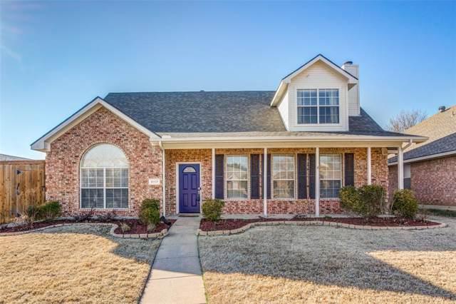 8117 Wharf Street, Frisco, TX 75035 (MLS #14260613) :: Van Poole Properties Group