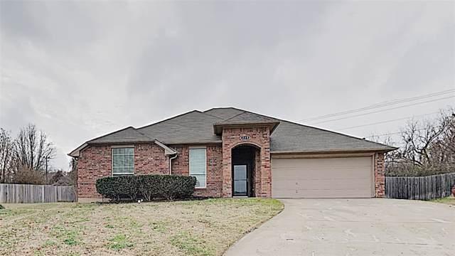209 Waverly Court, Weatherford, TX 76085 (MLS #14260715) :: NewHomePrograms.com LLC