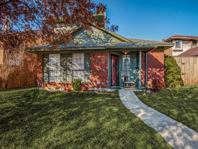 1615 Kingspoint Drive, Carrollton, TX 75007 (MLS #14260782) :: RE/MAX Town & Country
