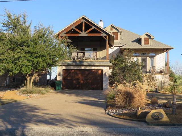 60 Oyster Bay, Possum Kingdom Lake, TX 76449 (MLS #14260816) :: The Hornburg Real Estate Group