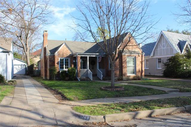 3253 Rogers Avenue, Fort Worth, TX 76109 (MLS #14260838) :: All Cities Realty