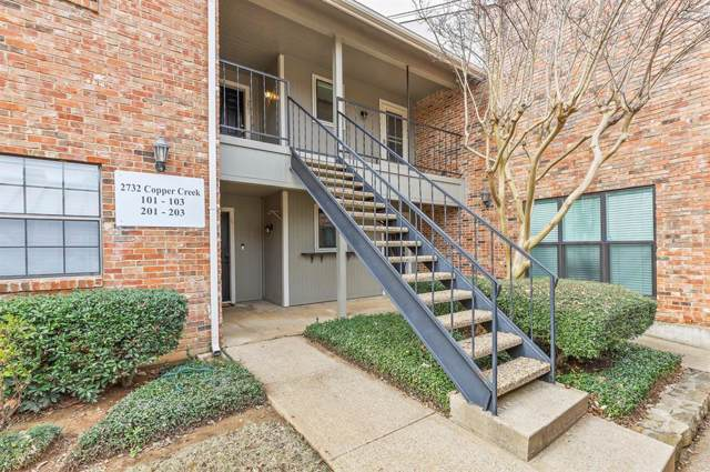 2732 Copper Creek Drive #202, Arlington, TX 76006 (MLS #14260860) :: The Hornburg Real Estate Group