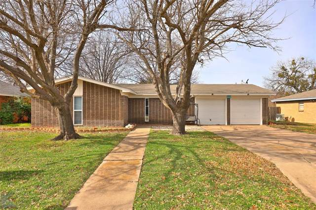 642 Harwell Street, Abilene, TX 79601 (MLS #14260912) :: North Texas Team | RE/MAX Lifestyle Property