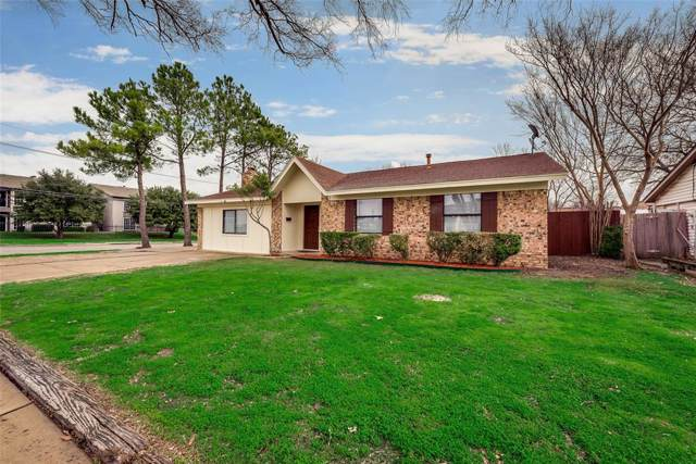 1101 Tahoe Drive, Lewisville, TX 75067 (MLS #14260929) :: The Kimberly Davis Group